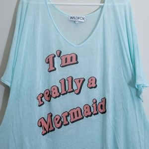 WILDFOX Mermaid Swimsuit Coverup
